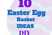 Easter Egg Baskets DIY