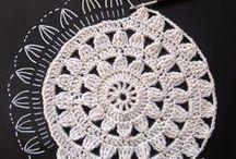 Crochet - Accessories & Stitches / Stitches, motifs, shawls, bags... / by Sylvie Damey