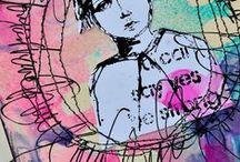 Art journaling & mixed media / by Neeltje van Bekkum