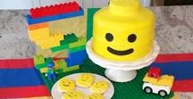 Lego party / Lego Birthday Party, Lego Decorations
