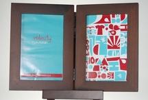 Portarretratos / Línea de portarretratos en diferentes tamaños y materiales. www.photofolio.com.mx #photofolio