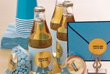 Graduation Party Inspirations / Graduation can be one of the best moments in a young person's life.  Whether you're celebration a graduation from kindergarten, grammar school, high school or college, these graduation party ideas are some of the best we've seen online.