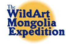The 2013 WildArt Mongolia Expedition / The WildArt Mongolia Expedition was successfully carried out from August 23 to September 10 of 2013. Two Mongol artists, one Mongol photographer and two American artists traveled from Ulaanbaatar to the western Gobi and back, visiting Boon Tsagaan Nuur, a remote Gobi lake, the Gobi Altai Mountains (snow leopard habitat), Takhiin Tal (takhi/Przewalski's horse and khulan/Mongolian wild ass) and Sharga (saiga antelope).