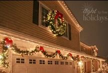 CHRISTMAS is my favorite SEASON! / I LOVE everything about Christmas! The family time, the warm cozy feeling the decorations add to the inside of the house, the beauty of the decorations outside. Oh I could go on and on! / by Erin Bard
