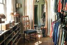 Closets / Chic closets, eclectic closets, celebrity closets, Closet organization, eclectic closets, closet inspiration, closet ideas