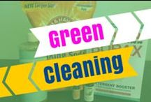 DIY Green Cleaning + Natural Household Supplies / Recipes to make your own clean, green and ecofriendly projects and recipes.