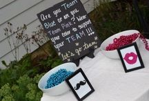 Gender reveal party / baby shower / by Erin Bard