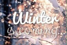 Winter Wonder / The weather outside is frightful... but Pinterest is so delightful!