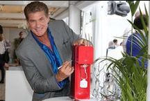 Celebrity SodaStream Sightings!  / A few of our more famous friends... with fizz!