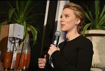 Scarlett Johansson Press Event / 1/10/2014, Gramercy Park Hotel, New York City