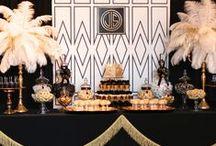 Style Decor: Art Deco  Art Nouveau / Art Deco decor, Art Nouveau home decor, Art deco influenced interiors, Art Nouveau influenced interiors, black white and gold decor, vintage eclectic interiors, great gatsby themed decor