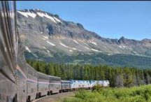 My TrAiN / Since 1981, I have travelled over 150,000 miles on Amtrak.  I love my train!  / by Donna Burnite-Martin