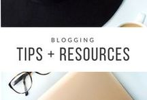 Blogging Tips + Resources