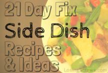 21 Day Fix Sides / 21 Day Fix friendly side dish recipes. Also great for those looking for some healthy clean eating side ideas and inspiration.