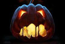 Halloween Pumpkins Jack O Lanterns / by Tracy Lynn