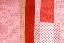 color board - pink and red ... / for the love of color combinations I love . . .