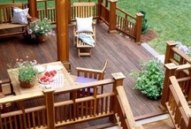 Back Deck Design / by Laura Saye