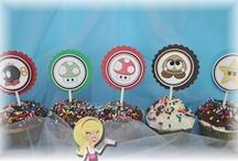 AJ Wrappers ~ Mario theme party