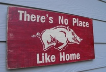 Call The Hogs <3  / Razorback Love.  / by Cassie Livengood