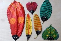 Crafts Naturais para crianças - nature kids crafts