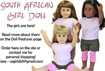 South African Girl Doll