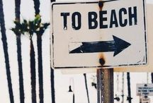 """Beachy Keen / """"The sound of the sea helps me get back to me."""""""