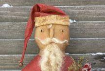 Handmade Santas / by Joanne Ehling Harper
