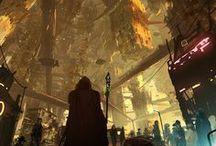 Fictional City Landscapes / The best science fiction landscapes