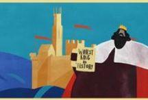 Magna Carta / Images for children's workshop