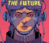 Cyberpunk/Dystopian Atmospheres / Cyberpunk and Dystopian atmospheric scenes.