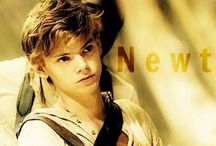 The scorch trials newt