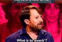 Comedians :)