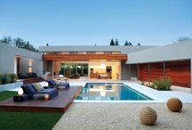The Great Outdoors / Inspiring outdoor spaces. Patios, Backyards and Pools. outdoor living, outdoor pools, indoor pools, outdoor furniture, outdoor kitchens, outdoor bars, outdoor