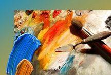 DIY, Art and Painting Tips / #paintingtips,#DIY,#art,#acrylicpainting / by Neadeen Masters