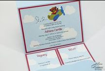 Lilian Designs Baby Invitations / Baptism, baby shower and communion invites specially designed at Lilian Designs Studio.