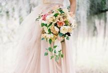Whimsical / Romantic and whimsical florals.