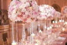 Crystal Candelabras / Gorgeous crystal candelabras perfect for your vintage, shabby chic, or bling wedding or event!