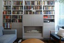 Falken Reynolds - Library + Media Wall
