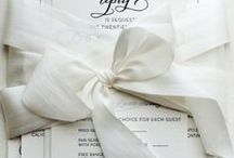 Classic / Traditional-looking invites, with a modern touch