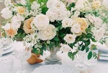 Centerpiece Love / Centerpieces can bring so much love to a wedding. Here are some of our favorite designs.