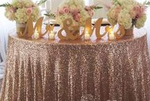 Head/Sweetheart Tables / The focal point of every wedding.