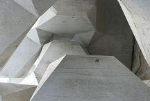 Concrete / Minden ami betonból készül. Letisztúl, könnyed formák, amik néha durva sprűd felülettel rendelkeznek.