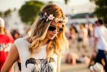 Festival Fashion / Festival looks are all the rage, how do you amp up your style for your favorite bands?