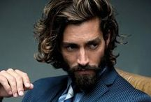 Beard & long hair
