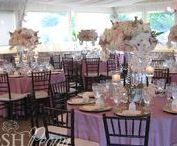Los Willows Fallbrook Wedding / Los Willows Fallbrook Wedding: Gorgeous blush pink wedding adorned with roses and orchids.