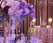 The Maxwell House Pasadena / This Great Gatsby Inspired wedding took place at the beautiful Maxwell House In Pasadena. The location was the perfect canvas for this sequin, glitz, and glam affair in purple tones. www.poshpeony.com