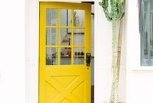 Bright and Colourful Doors / by Fi Bluebellgray