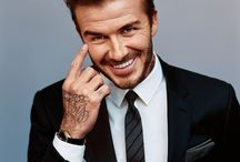 David Beckham / Not jealous Of many things but this man...