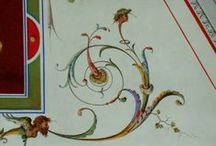 Painted Ornamentation Inspiration / Images I find inspirational for ornamental painting and design.