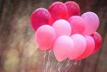 Pink, fuchsia and magenta